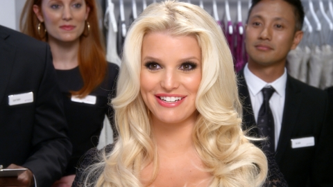 "In the latest installment of Macy's ""What's in Store?"" sitcom-themed ads, Jessica Simpson plays the  ..."