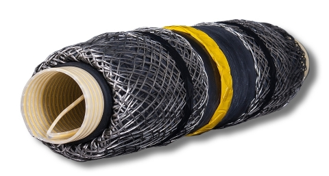 For the utility market, the new 3M Cold Shrink QS4 Integrated Splice combines proven reliability wit ...