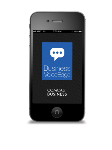 Comcast Business VoiceEdge mobile app is available now for Android and iOS. (Photo: Business Wire)