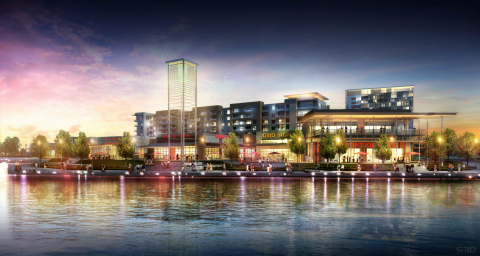 Hughes Landing Waterfront (Photo: Business Wire)