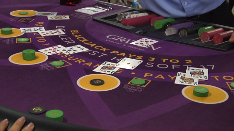 Graton Resort & Casino, the largest gaming and entertainment destination in the Bay Area, will open to the public on Tuesday, Nov. 5 at 10 a.m. More than 900 individuals have been trained to deal through Graton's free Dealer School program. Of that 900, roughly 300 have already been hired. (Photo: Business Wire)