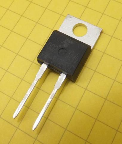 Toshiba SiC Schottky Barrier Diode (Photo: Business Wire)