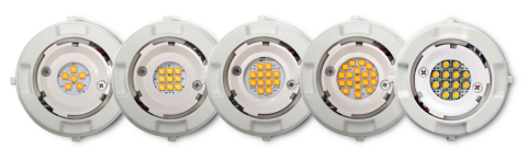 GE's family of Infusion LED Modules features a range of optic designs with a twist-lock interface fo ...