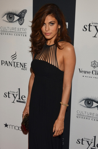Pantene celebrity ambassador, Eva Mendes, at Vanidades Icons of Style 2013 in New York (Photo courte ...
