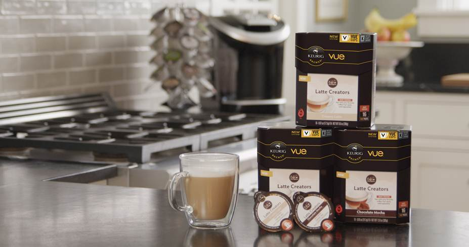Keurig Vue, Cafe Escapes Latte Creators