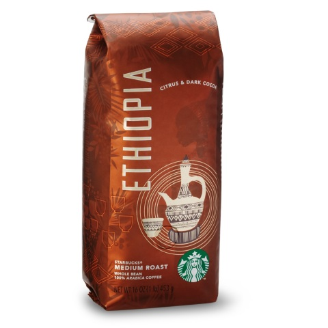 New single-origin Ethiopia coffee available at Starbucks starting September 24. (Photo: Business Wir ...