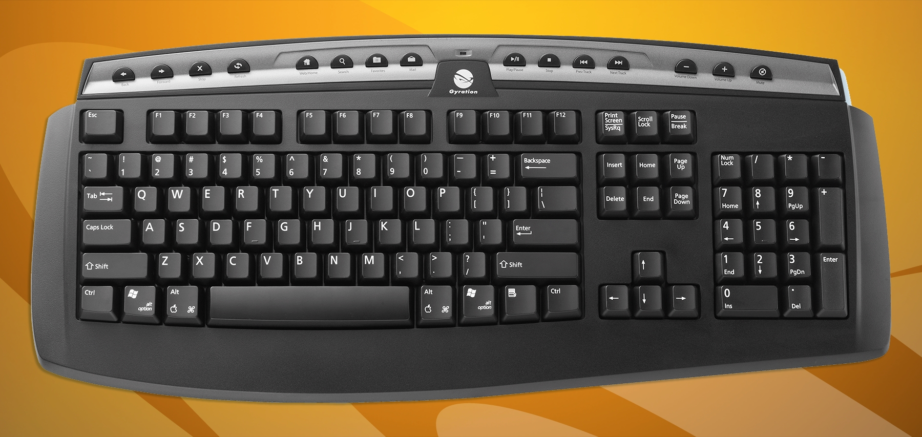 Gyration Goes Retro, re-introduces two new Classic Wireless Keyboards (Photo: Business Wire)