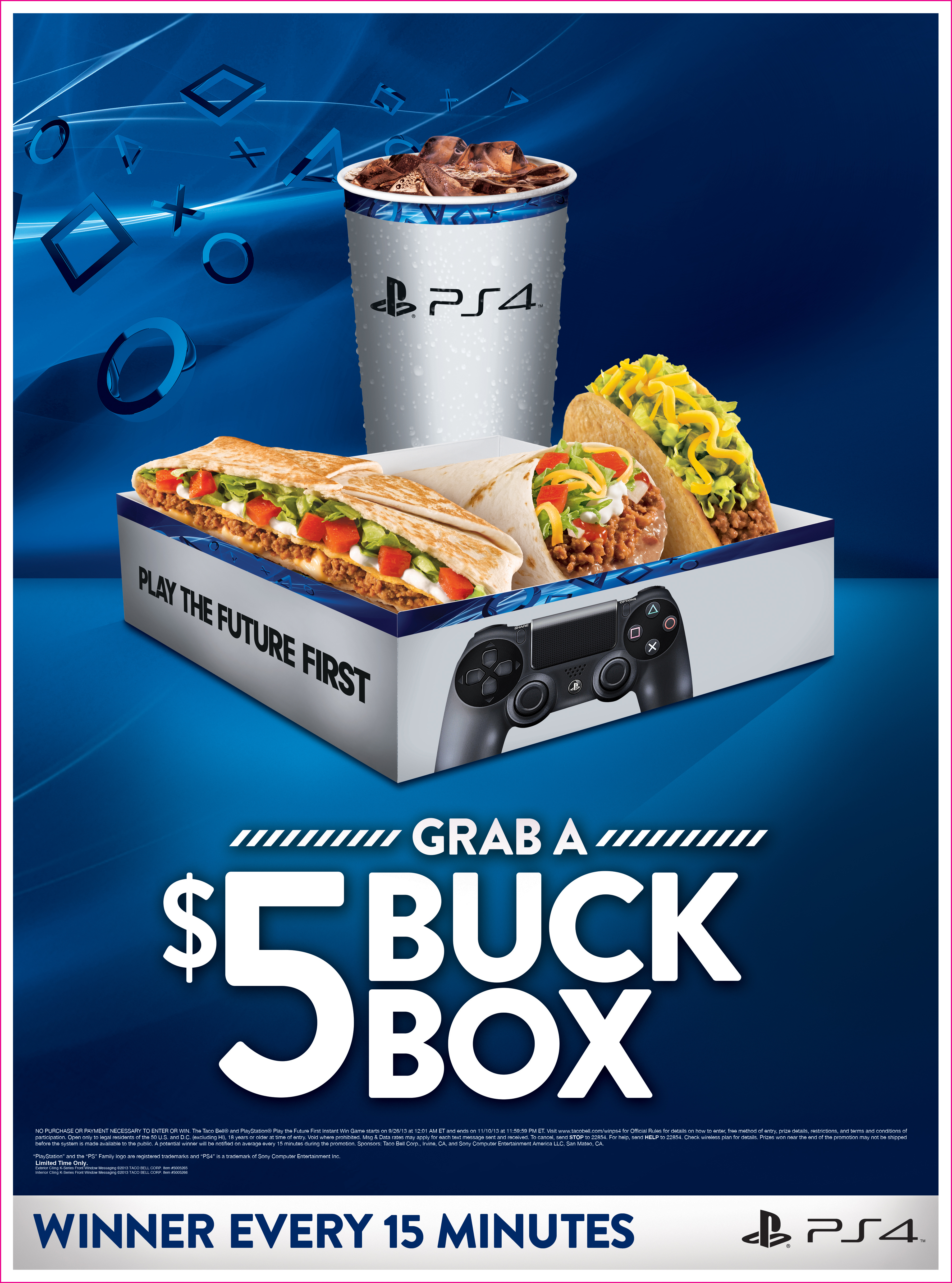 Sony Computer Entertainment America And Taco Bell Offer Fans The Chance To Win A Playstation 4 Before Nov 15 Launch Business Wire
