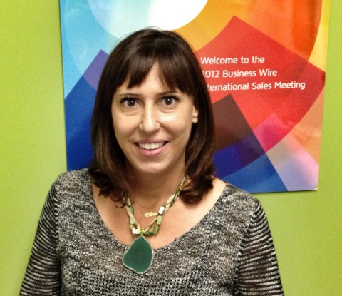 Serena Ehrlich, director, social and evolving media at Business Wire (Photo: Business Wire)