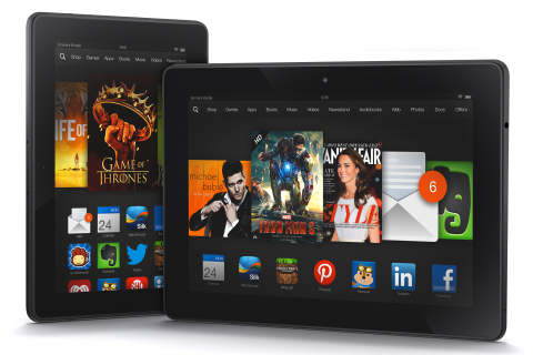 Kindle Fire HDX Family (Photo: Business Wire)