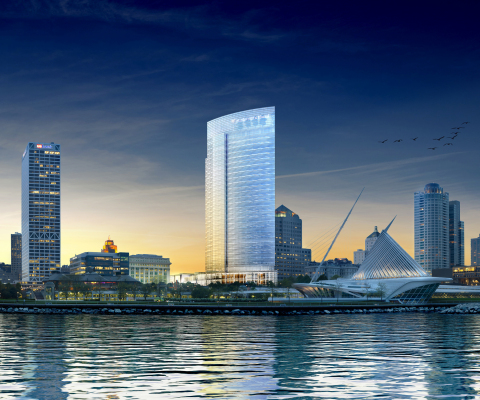 Rendering of Northwestern Mutual Tower in Milwaukee skyline (c)Studio AMD (Photo: Business Wire)