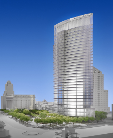 Model of Northwestern Mutual Tower (c)Hedrich-Blessing (Photo: Business Wire)
