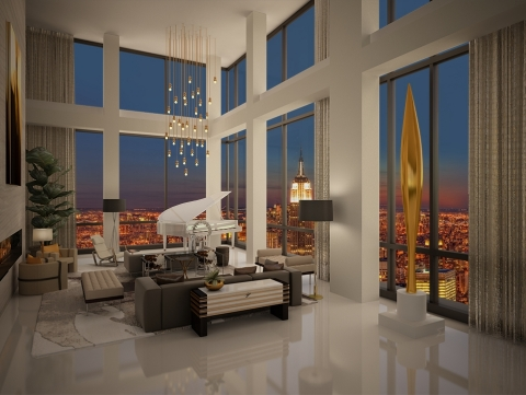 Trump Soho Presidential Penthouse (Photo: Business Wire)