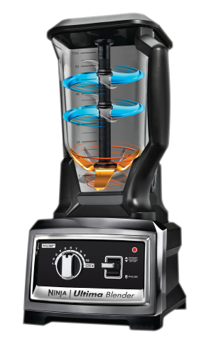 Ninja Ultima(TM) Blender Introduces New Technology for Ultra-Smooth Nutrient Rich Juices (Photo: Bus ...