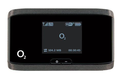 The NETGEAR AirCard 762S Mobile Hotspot on the O2's 4G Network (Photo: Business Wire)