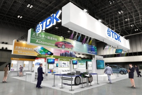 Image of TDK booth. (Photo: Business Wire)