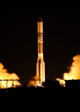ASTRA 2E Satellite Launched Successfully (Credit: ILS)