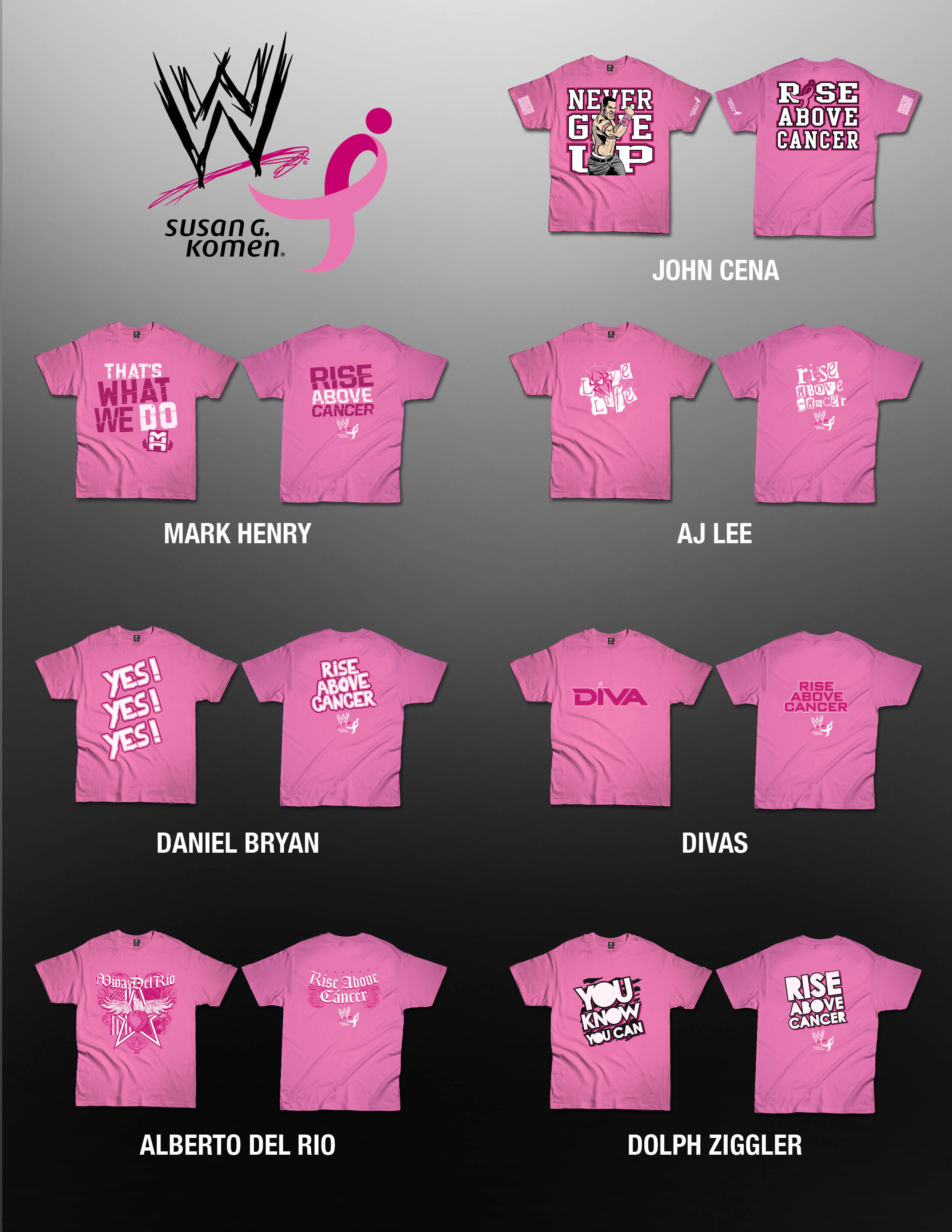 10f2ab2c WWE® Goes Pink with Susan G. Komen® | Business Wire