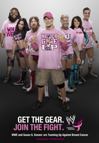 WWE Goes Pink with Susan G. Komen (Photo: Business Wire)
