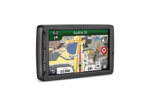 BMW Motorrad Navigator V combines the latest Garmin navigation features with exclusive, BMW-specific ...
