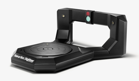 The MakerBot Digitizer Desktop 3D Scanner is shipping to customers this week! MakerBot also releases ...