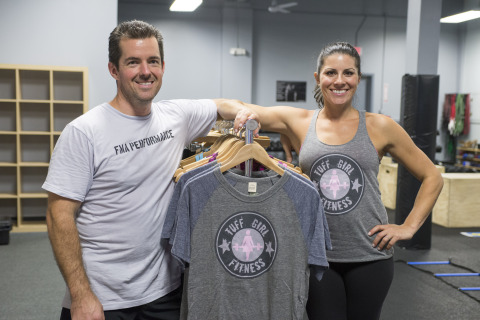 Christa and Mike Doran, coaches and owners of Tuff Girl Fitness in Hamden, Conn. (Photo: Business Wi ...