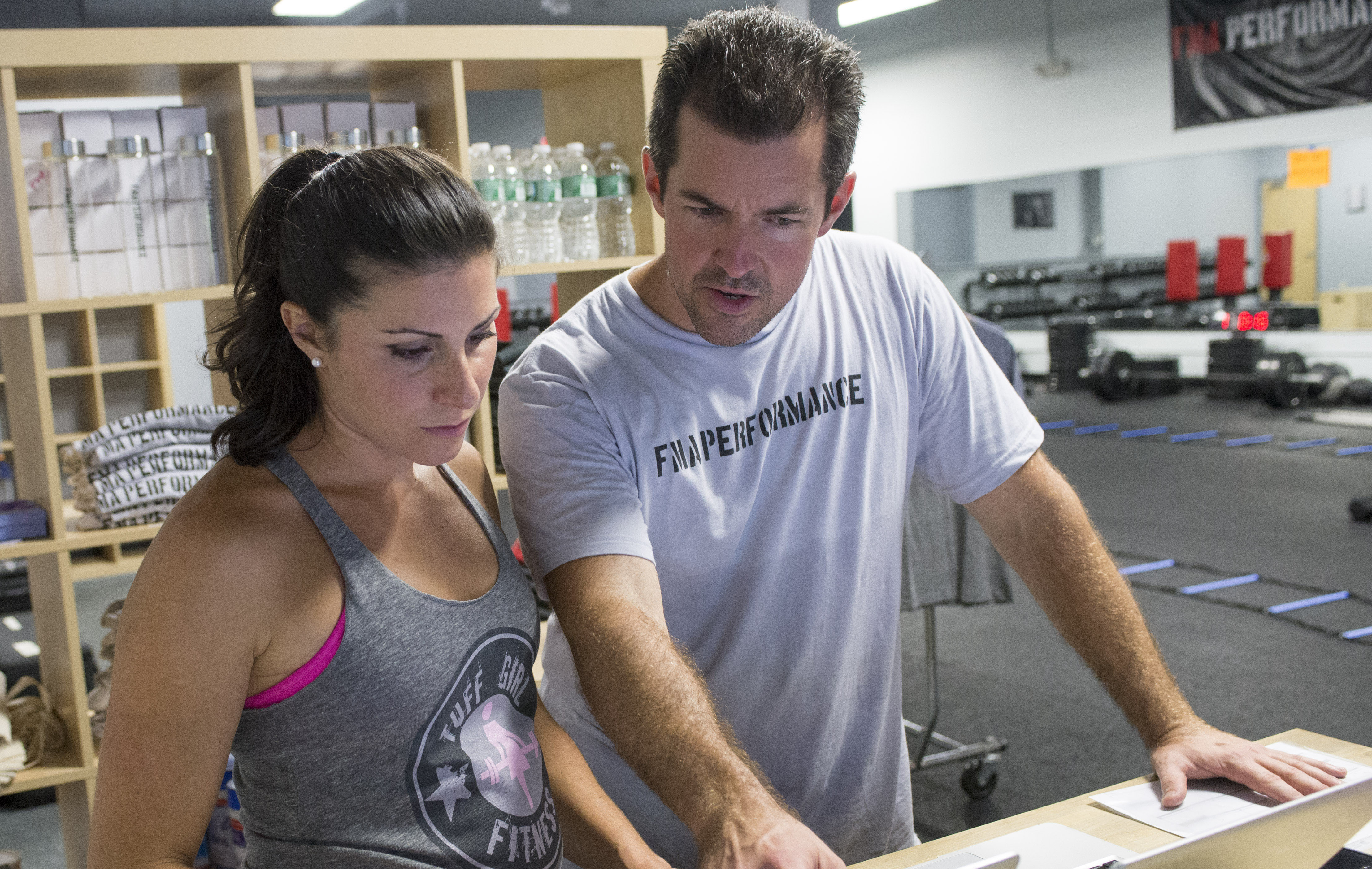 Christa and Mike Doran, coaches and owners of Tuff Girl Fitness in Hamden, Conn. (Photo: Business Wire)