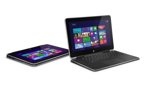 Dell XPS 11 2-in-1 convertible Ultrabook (Photo: Business Wire)