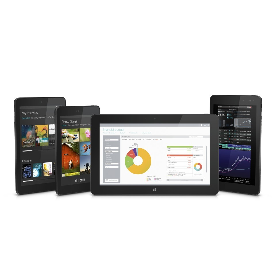 Dell Venue tablet family (Photo: Business Wire)