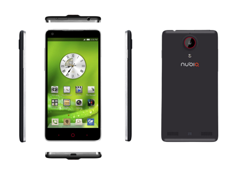 ZTE launches the nubia 5, a smartphone designed for self expression, supporting a wonderfully crafted camera experience. (Photo: Business Wire)