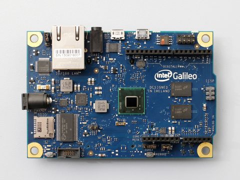 Intel(R) Galileo - Intel(R) Galileo is the first in a line of Arduino-compatible development boards based on Intel architecture. (Photo: Business Wire)