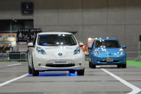 グランプリの日産自動車自動運転技術(写真:ビジネスワイヤ)
