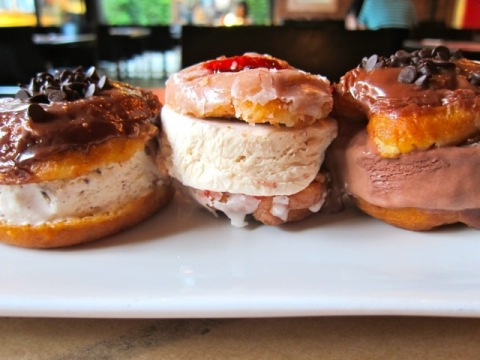 L.A. Creamery's Donut Ice Cream Sammies (Photo: Business Wire)
