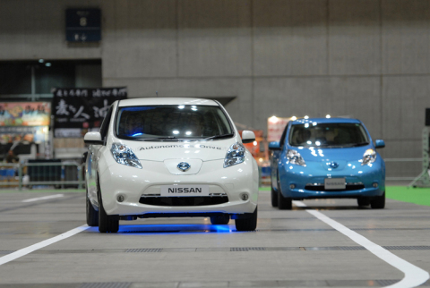 Grand-Prix winner Nissan Motor Company's autonomous driving technology (Photo: Business Wire)