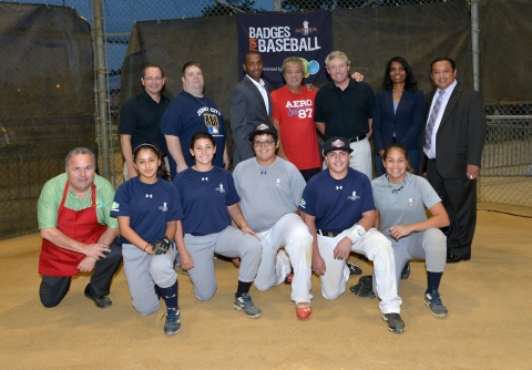 It was a great night in Jersey City to celebrate the children of Jersey City's RBI program. Pictured ...