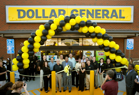 Dollar General celebrates the opening of its 11,000th store. (Photo: Business Wire)