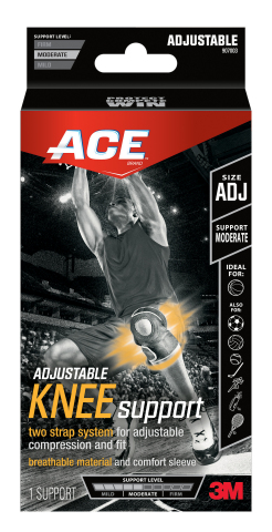 ACE Brand Adjustable Knee Support (Photo: Business Wire)