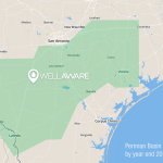 WellAware's oilfield communications network blankets the Eagle-Ford (Graphic: Business Wire)
