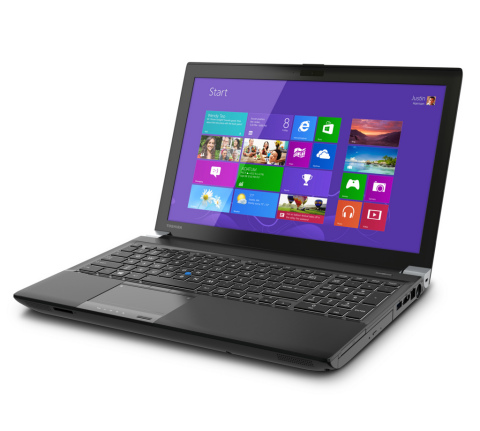 The all-new Toshiba Tecra W50 workstation. (Photo: Business Wire)