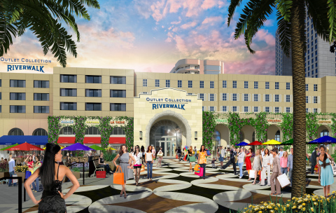 Spanish Plaza Entrance (Photo: Business Wire)