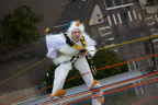 Parmenter Realty Partners Hosts Two Over The Edge Rappelling Events (Photo: Business Wire)