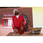"In this image released by HOT POCKETS® brand sandwiches on Tuesday, Oct. 8, 2013 - Snoop Dogg is seen on the set of the ""You Got What I Eat"" music video in Los Angeles; visit hotpockets.com/HotterPockets. (Photo: Business Wire)"