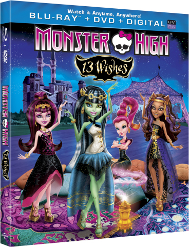 "Just in time for Halloween, Monster High(TM) unearths freaky-fab new monsters in the new movie ""Mons ..."