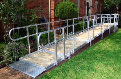 American access adds three new models to line of modular for Prefab wheelchair ramp