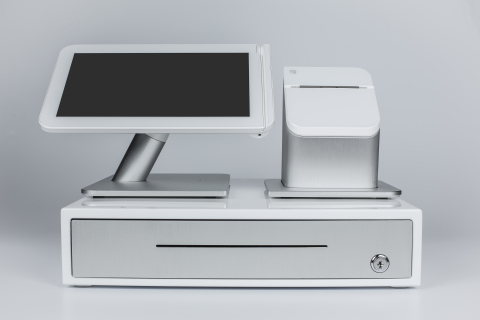 First Data Unveils Sleek Clover Point-of-Sale Solution for Small Business (Photo: Business Wire)