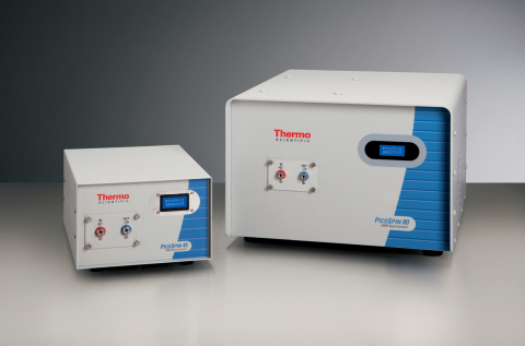 The Thermo Scientific picoSpin 45 and Thermo Scientific picoSpin 80 spectrometers (Photo: Business Wire)