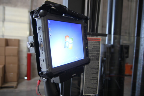 Xplore and blank-it integrated tablet solution for warehousing environments. (Photo: Business Wire)