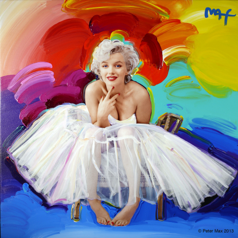 """""""Max on Greene"""" exhibition featuring Marilyn Monroe by Peter Max (Photo: Business Wire)"""