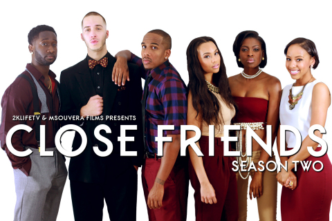 The cast of Close Friends returns for season 2. (Photo: Business Wire)