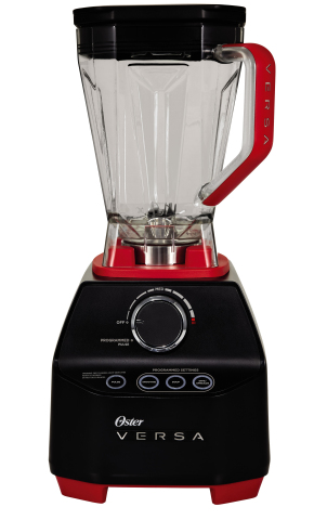 The Oster(R) VERSA(R) Performance Blender will turn any nut into butter in 30 seconds, frozen fruit into sorbet in 30 seconds, and it can even make hot soup in 5 minutes! (Photo: Business Wire)